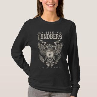 Team LUNDBERG-Lebenszeit-Mitglied. T-Shirt