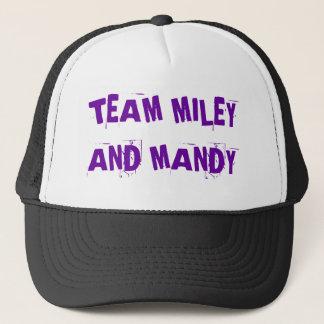 TEAM MILEY UND MANDY!! TRUCKERKAPPE