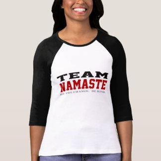 Team Namaste - seien Sie nett! Hemd