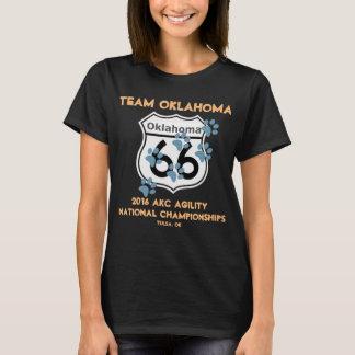 Team-Oklahoma-Agility-Entwurf für Anhänger 2016 T-Shirt