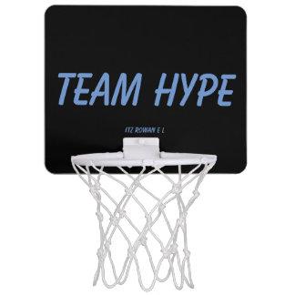 Team-Übertreibungsminikorb-Ballband Mini Basketball Ring