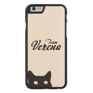 Team Verena iPhone Case Carved® iPhone 6 Hülle Ahorn