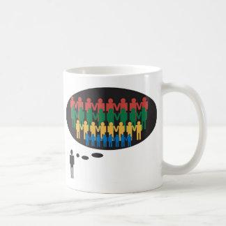 Teamarbeit Thema Kaffeetasse