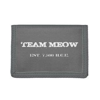 Teammeow-Geldbörse