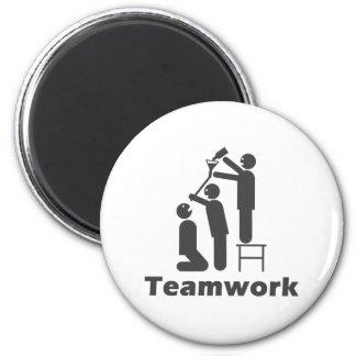 Teamwork - motivierend Waren Magnete