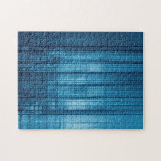 Technologie-Mosaik-Hintergrund als Puzzle