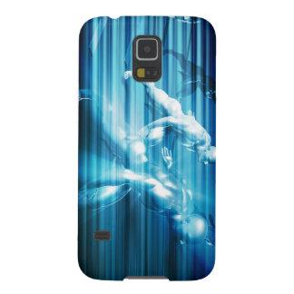 Technologie-Wissenschaft als abstraktes Konzept Samsung Galaxy S5 Hüllen