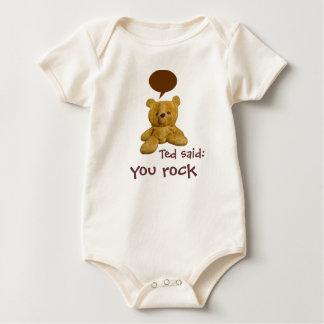 Ted sagte: Sie schaukeln - Baby/Säugling Baby Strampler