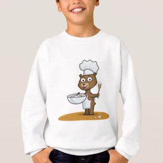 Teddybär-Koch Sweatshirt