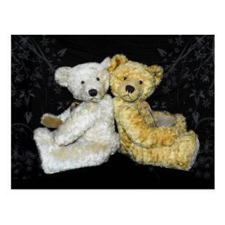 Teddybär-Postkarte Postkarte
