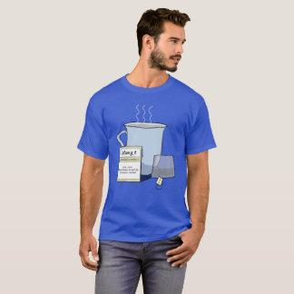 Tee, ein Computer-Nerd-Wortspiel T-Shirt