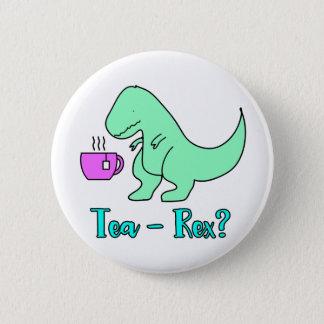 Tee-Rex T-Rex niedlicher Dinosaurier Runder Button 5,1 Cm