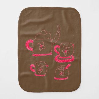 Tee-Zeit-Babys Burb Schellfisch Spucktuch