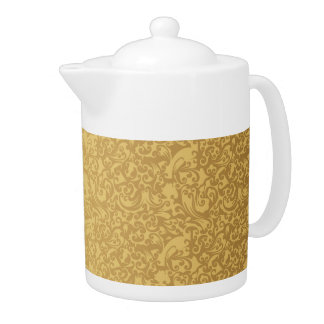 Teekanne des Muster-11