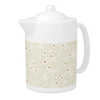 Teekanne des Muster-17