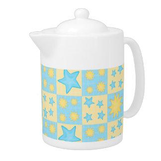 Teekanne des Muster-32