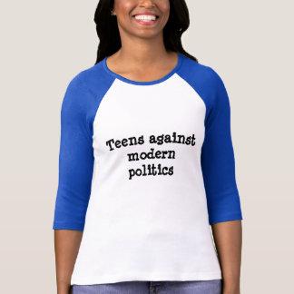 Teens gegen modernes Politik-Shirt T-Shirt