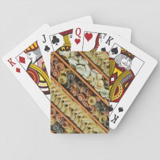 Teigwarennudelphotographie Pokerdeck