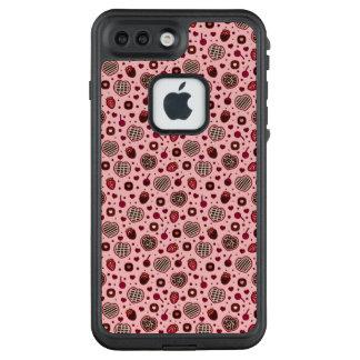 Telefon-Kasten des rosa Valentine-süßer LifeProof FRÄ' iPhone 7 Plus Hülle