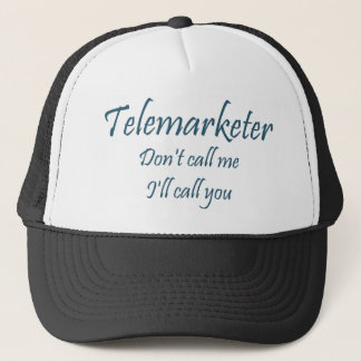 Telemarketer-Hut Truckerkappe