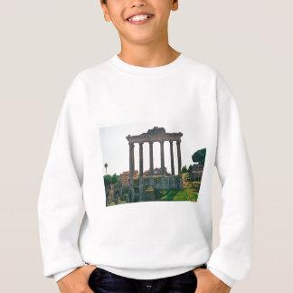 Tempel im römischen Forum Sweatshirt