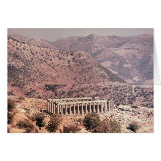 Tempel von Apollo Epikourios, c.450-20 BC Karte