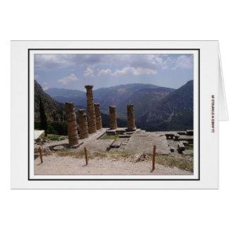 Tempel von Apollo Karte