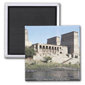 Tempel von Philae obere Ägypten Wüste Assuans, Quadratischer Magnet