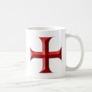 Templar Kreuz Tasse