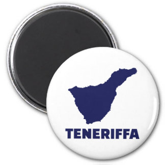Teneriffa Runder Magnet 5,1 Cm
