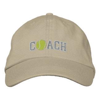 Tennis-Trainer Bestickte Kappen