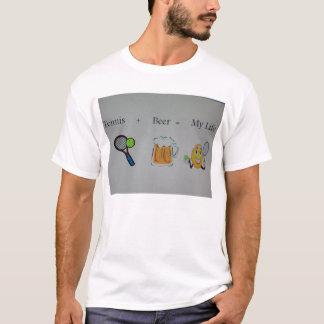 Tennis und Bier T-Shirt