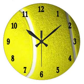Tennisball-Sport-Wanduhr Uhren