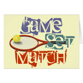 Tennisspieler alles Gute zum Geburtstag Karte