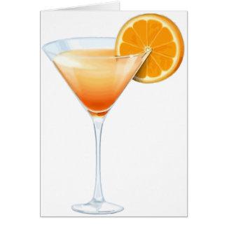 Tequila-Sonnenaufgang-Cocktail Karte