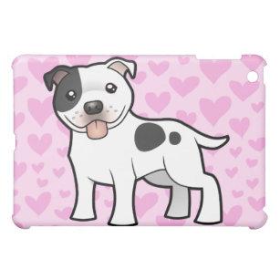 Terrier-Liebe Staffordshires Stier (addieren Sie iPad Mini Hülle