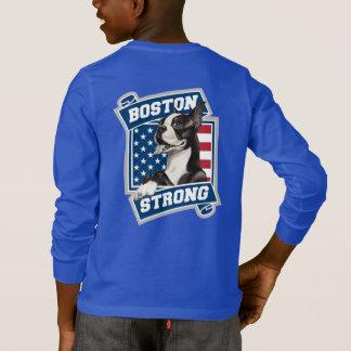 TERRIER-Wappenart BOSTONS STARKE T-Shirt