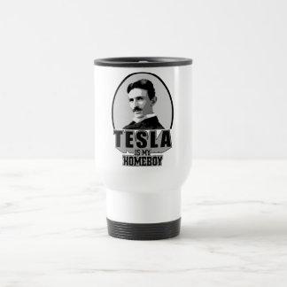 Tesla ist mein Homeboy Edelstahl Thermotasse