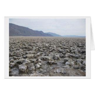 Teufel Golfplatz, Death Valley Karte