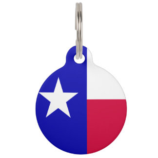 Texas-Flagge Tiermarke