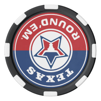 Texas rundes them® Chipset Poker Chips