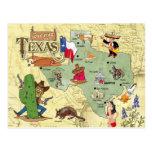 Texas-Staats-Karte