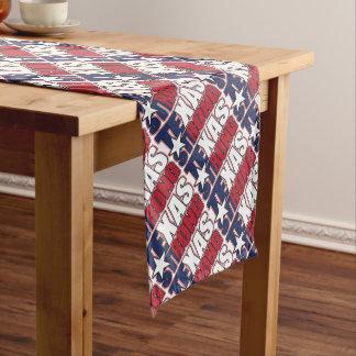 Texas-Stark Kurzer Tischläufer