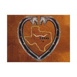 Texas-Stolz Leinwanddruck