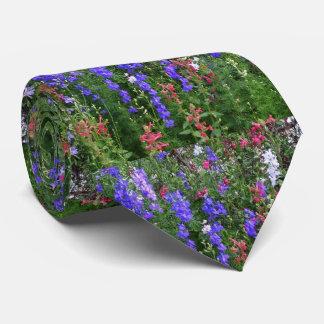 Texas-Wildblumen Bedruckte Krawatte