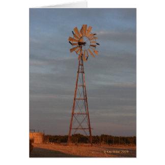 Texas-Windmühle Karte