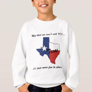 Texas-Wir können 911 nennen Sweatshirt
