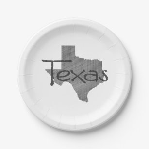 TexaspapierParty-Teller Pappteller