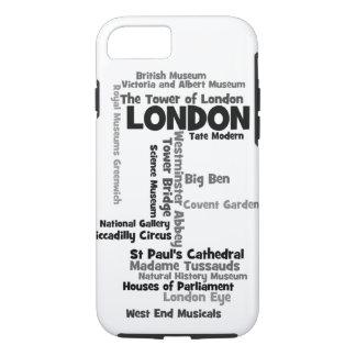 "Text-Kunst ""London "" iPhone 8/7 Hülle"