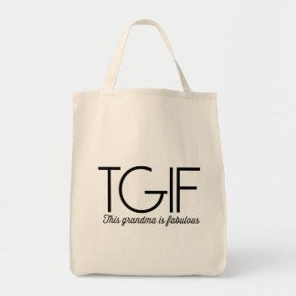 TGIF. Diese Großmutter ist fabelhaft! Einkaufstasche